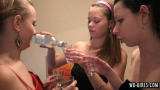 3girls drinking booze